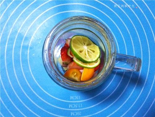 蜂蜜水果茶的做法图解8