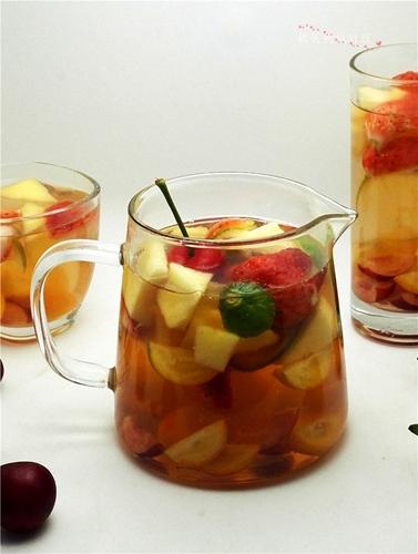 蜂蜜水果茶的做法图解11
