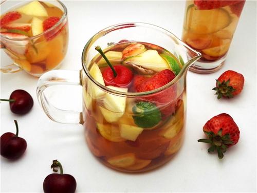 蜂蜜水果茶的做法图解12