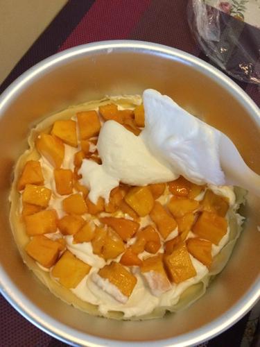 生日蛋糕之芒果千层的做法图解8