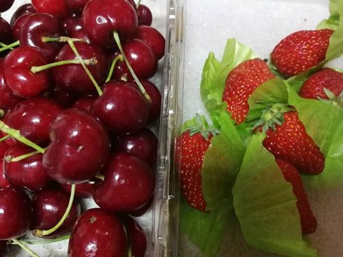 樱桃草莓蛋糕的做法图解2
