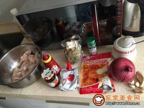 韩式炸鸡(甜辣)的做法图解1
