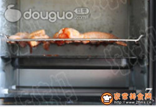 荔枝红酒法式黑椒烤翅的做法图解7