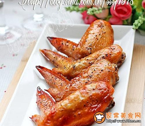 荔枝红酒法式黑椒烤翅