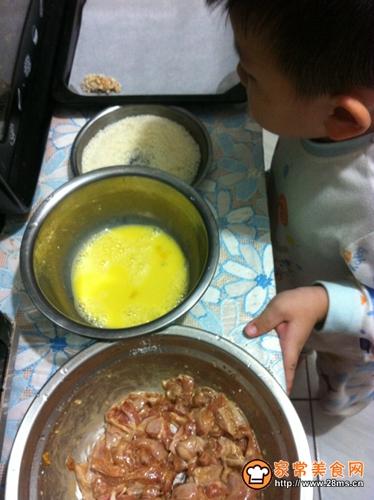 香酥鸡米花(烤箱版)的做法图解8