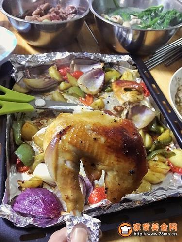 烤全鸡的做法图解11