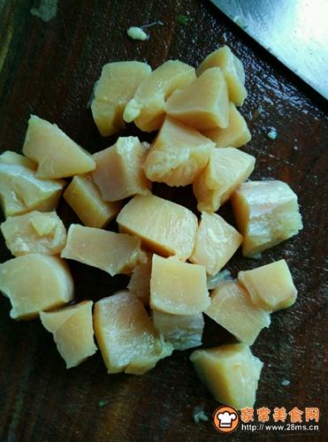 外酥里嫩鸡米花的做法图解2