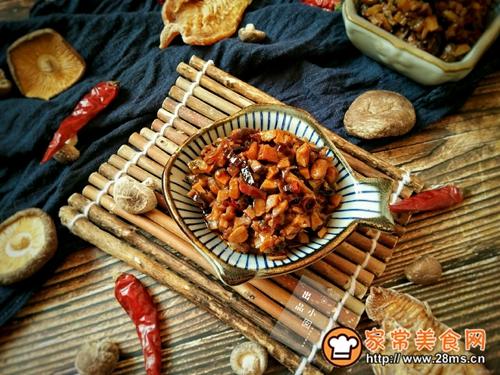 香辣笋丁菌菇酱的做法图解15