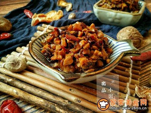 香辣笋丁菌菇酱的做法图解16