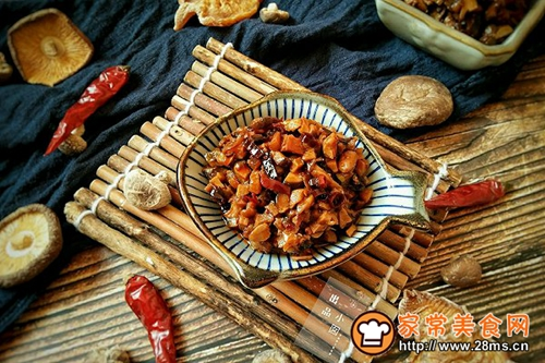 香辣笋丁菌菇酱