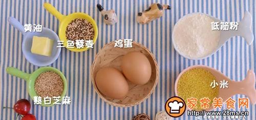 小米藜麦薄脆宝宝辅食食谱的做法图解1