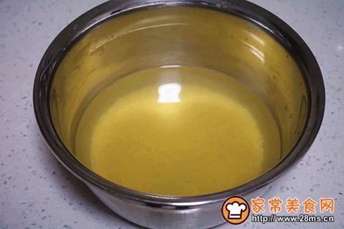 金龙鱼爱心桃花小米青菜猪肝粥的做法图解3