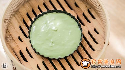 菠菜小米软发糕的做法图解11