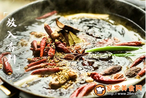烧椒牛肉的做法图解10