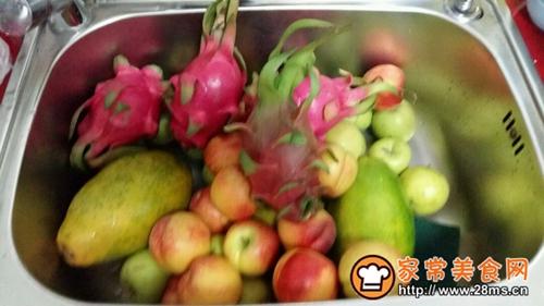 自制综合水果酵素的做法图解1