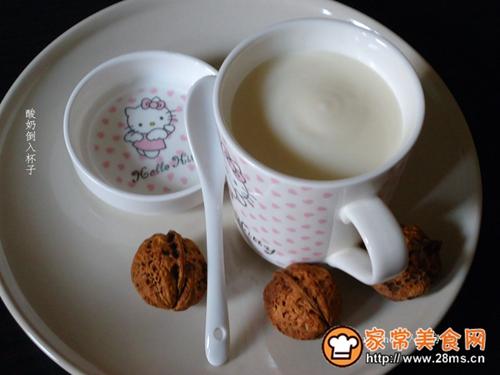 补脑早餐核桃酸奶的做法图解6