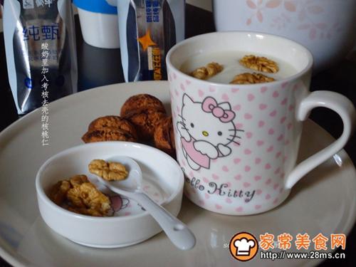补脑早餐核桃酸奶的做法图解7