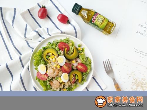 减脂餐—藜麦虾仁沙拉的做法图解11