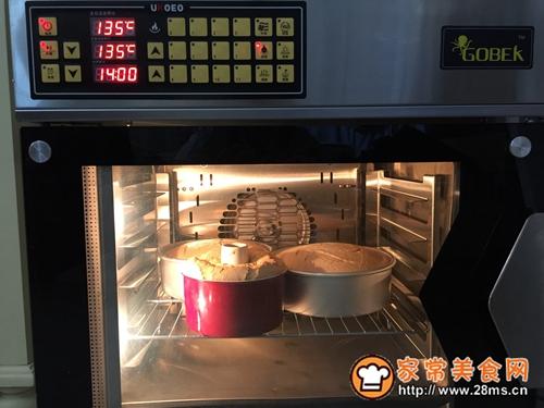 100%全麦戚风蛋糕(8寸)的做法图解21