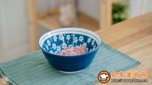 浇汁肉末豆泥的做法图解4