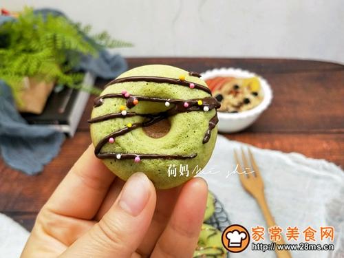 蔬菜汁甜甜圈的做法图解9
