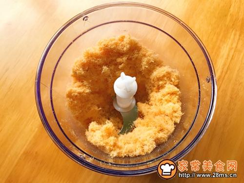 肉松甜甜圈蛋糕的做法图解2