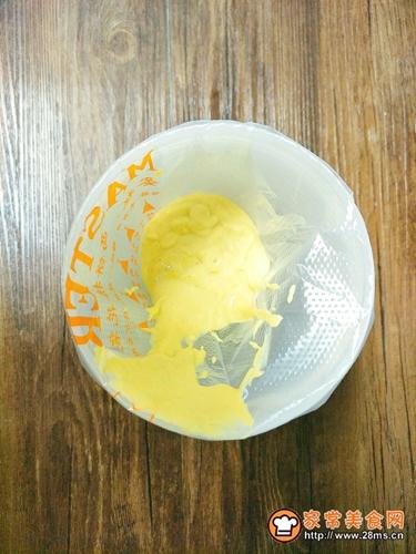 淡奶油玉米饼的做法图解6