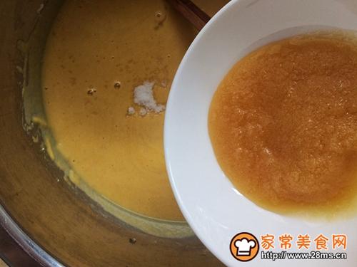 健康粗粮小点心:蜂蜜玉米面饼的做法图解5
