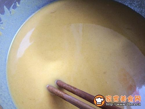 健康粗粮小点心:蜂蜜玉米面饼的做法图解6