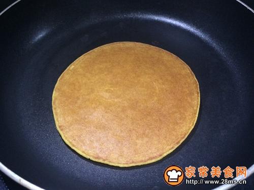 健康粗粮小点心:蜂蜜玉米面饼的做法图解11