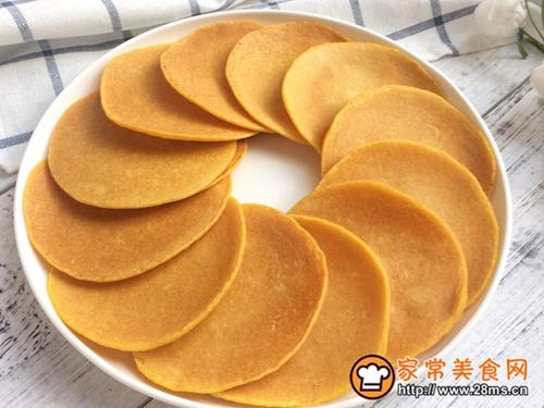 健康粗粮小点心:蜂蜜玉米面饼的做法图解12
