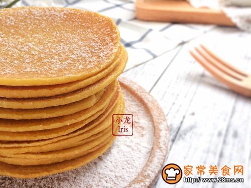 健康粗粮小点心:蜂蜜玉米面饼的做法图解13