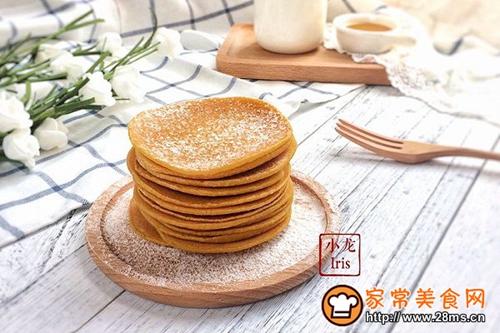 健康粗粮小点心:蜂蜜玉米面饼