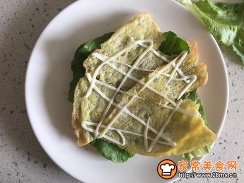 营养早餐—火腿三明治的做法图解7