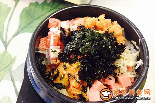韩国鱼籽海苔拌饭