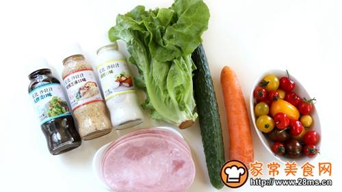 花束沙拉-丘比沙拉汁的做法图解1