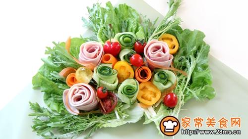 花束沙拉-丘比沙拉汁的做法图解9
