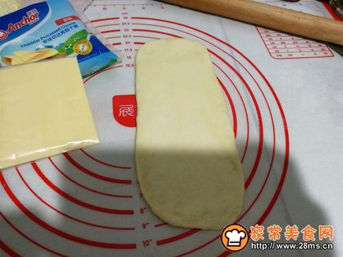 火腿乳酪卷的做法图解9