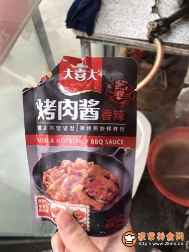 家常版烤冷面的做法图解8