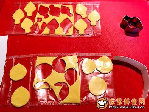 百吉福奶酪花朵三明治的做法图解5