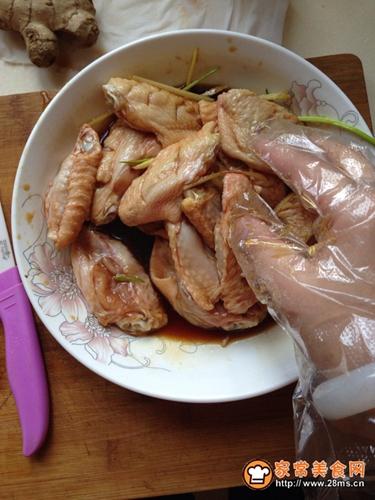 蜂蜜烤鸡翅的做法