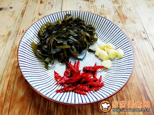 豆芽炒海带丝