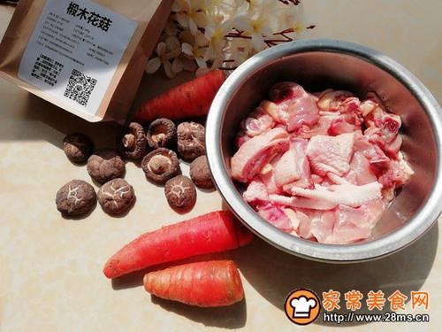霸王超市|花菇炖鸡汤