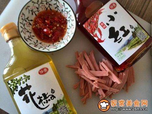 麻辣红油拌菜