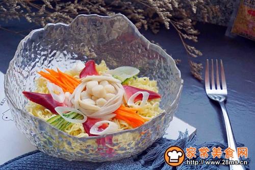 海鲜沙拉冷面