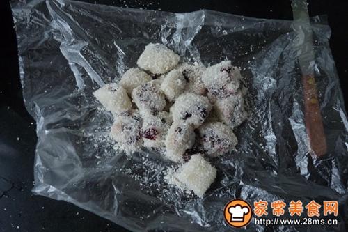 蔓越莓糯米小方