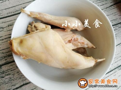 红烧兔腿:美容养颜低脂补气