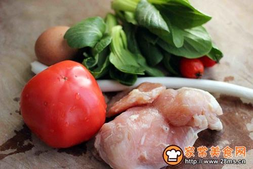 番茄咖喱鸡肉丸子