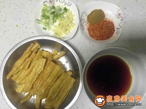 鸿福高照(红油腐竹)