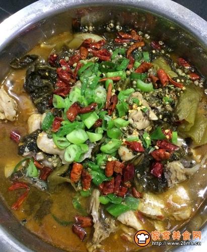 简单易学的酸菜鱼